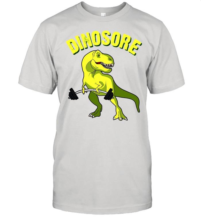 Dinosaur Dinosore Gym shirt