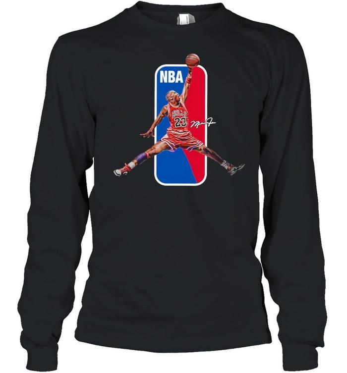 23 Lebron James NBA Signature shirt Long Sleeved T-shirt