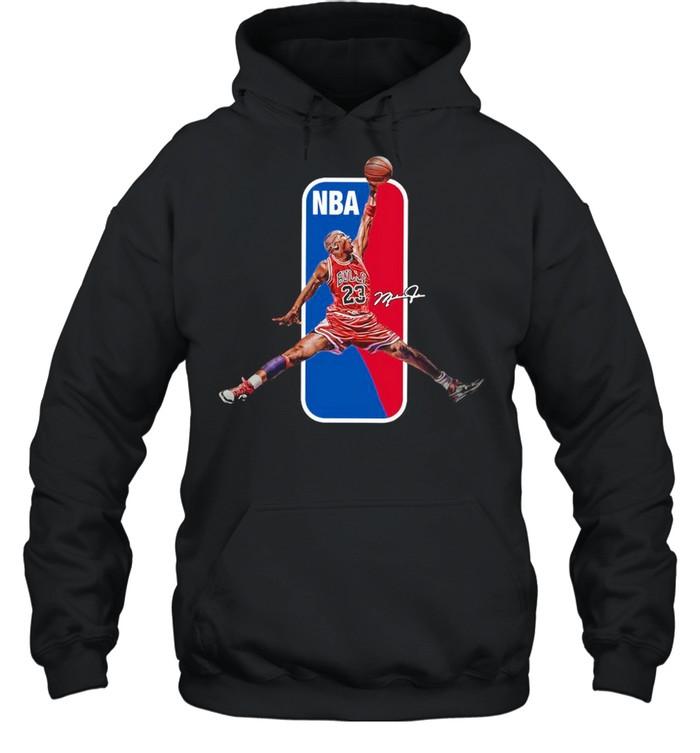 23 Lebron James NBA Signature shirt Unisex Hoodie