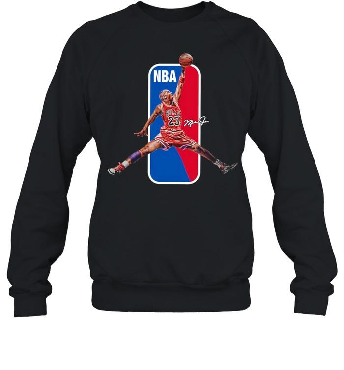 23 Lebron James NBA Signature shirt Unisex Sweatshirt