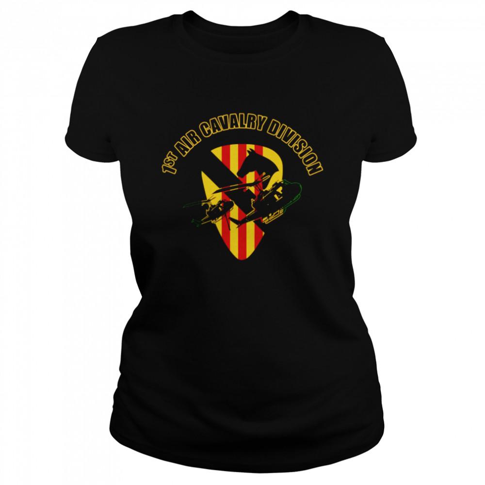 1st Air Cavalry Division shirt Classic Women's T-shirt