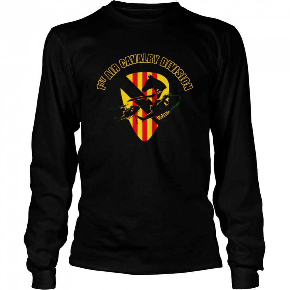 1st Air Cavalry Division shirt Long Sleeved T-shirt