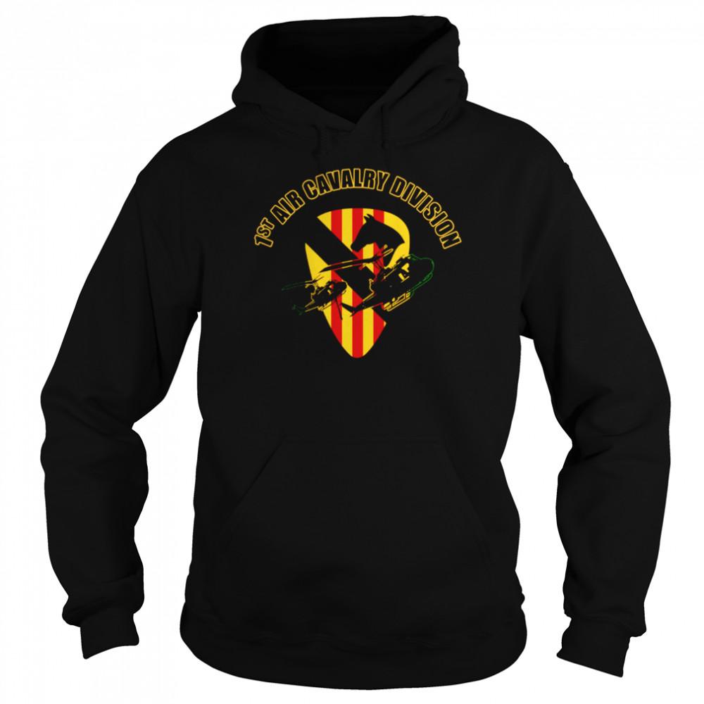 1st Air Cavalry Division shirt Unisex Hoodie