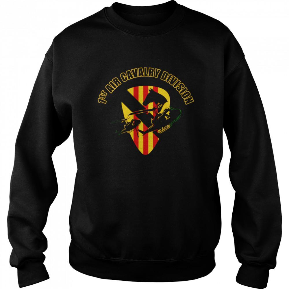 1st Air Cavalry Division shirt Unisex Sweatshirt