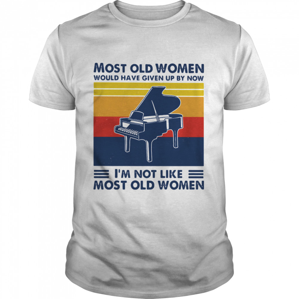 Most Old Men Would Have Given Up By Now I'm Not Like Most Old Men Windsurfing Vintage Shirt