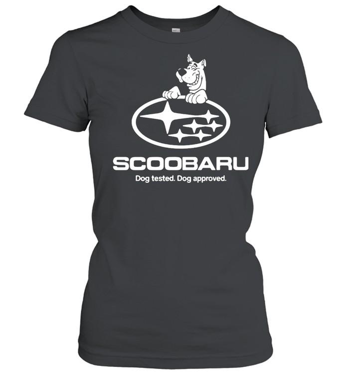 Scoobaru Dog Tested Dog Approved T-shirt Classic Women's T-shirt