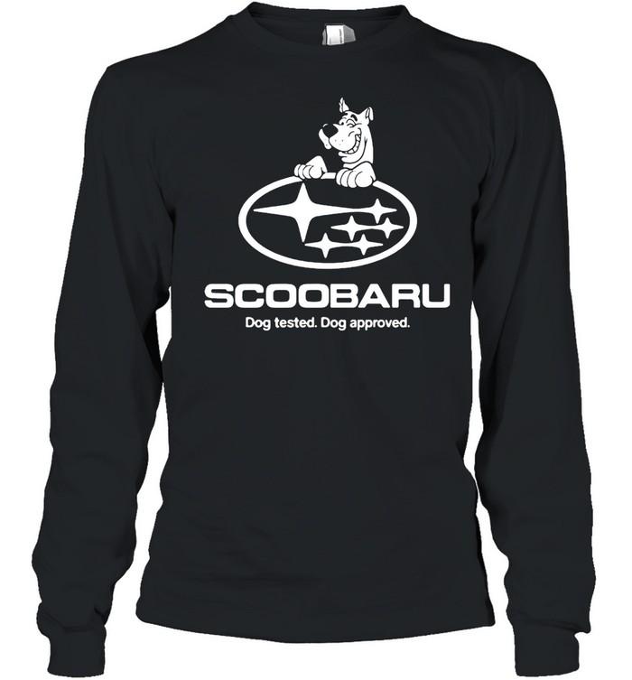 Scoobaru Dog Tested Dog Approved T-shirt Long Sleeved T-shirt
