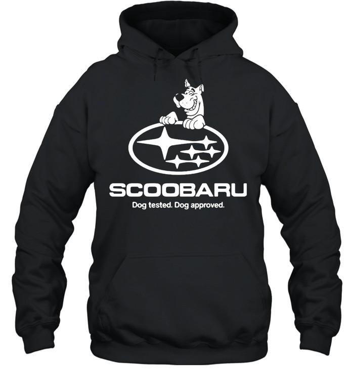 Scoobaru Dog Tested Dog Approved T-shirt Unisex Hoodie