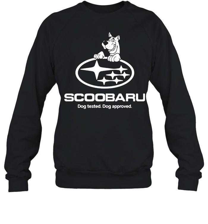 Scoobaru Dog Tested Dog Approved T-shirt Unisex Sweatshirt