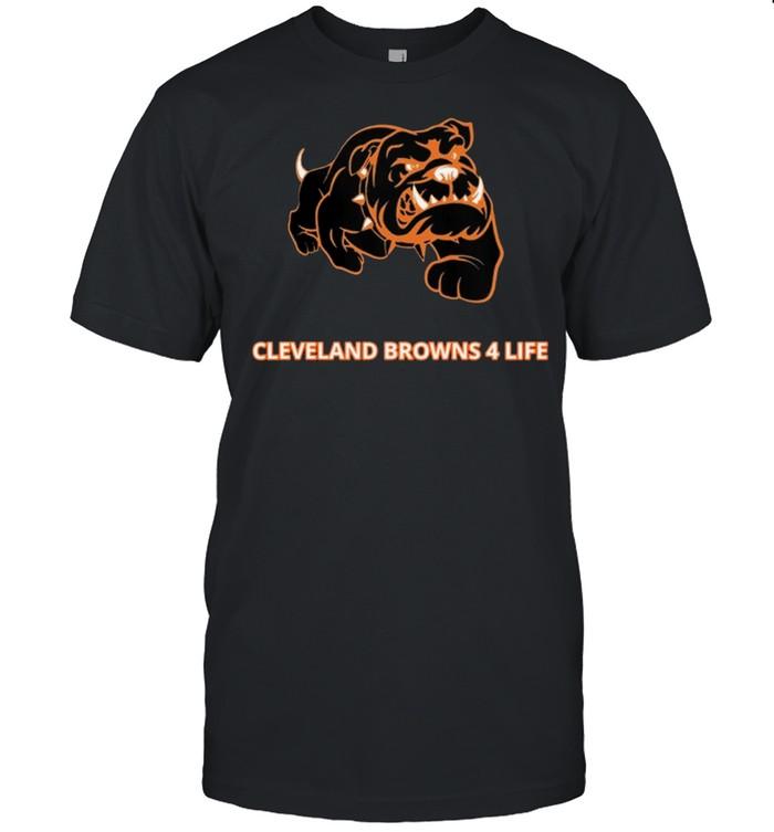 Cleveland Browns 4 Life shirt