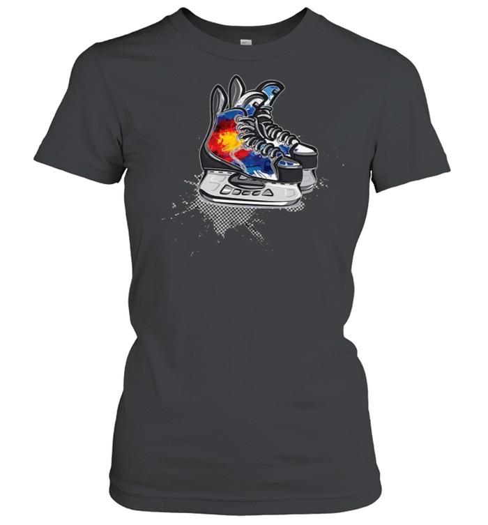 Colorado Hockey Skates T- Classic Women's T-shirt