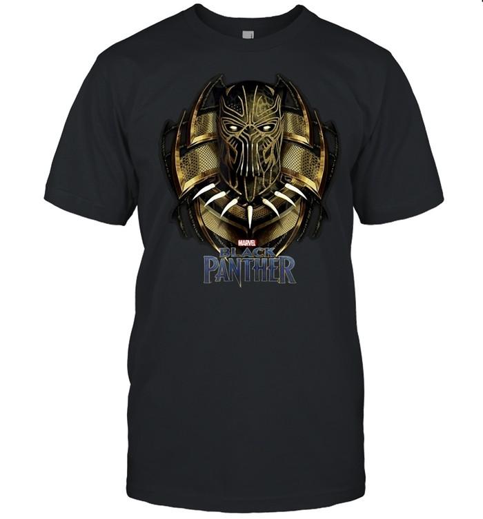 Marvel Black Panther Movie Killmonger Golden Jaguar T-shirt