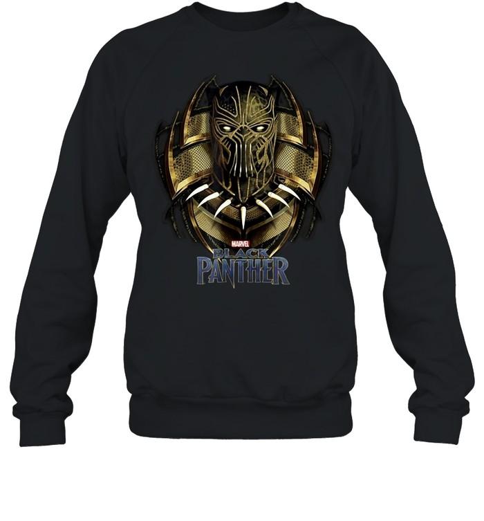 Marvel Black Panther Movie Killmonger Golden Jaguar T-shirt Unisex Sweatshirt
