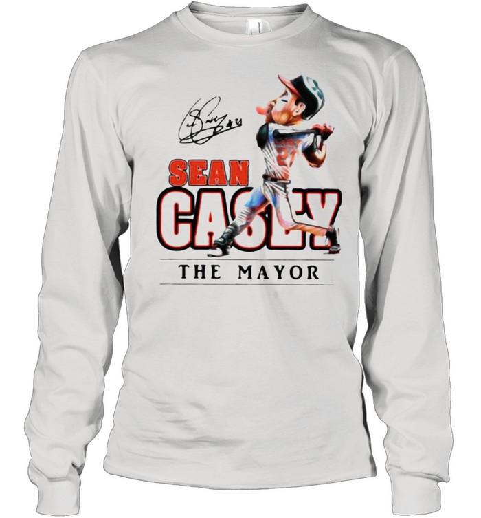 Sean casey the mayor baseball shirt Long Sleeved T-shirt